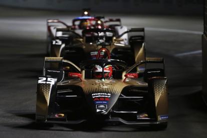 DS-Techeetah bringt in Rom seinen neuen Formel-E-Antrieb auf die Strecke