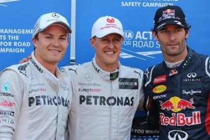 """""""Auf einem anderen Level"""": Schumacher hätte Mercedes-Sieg """"verdient"""" gehabt"""