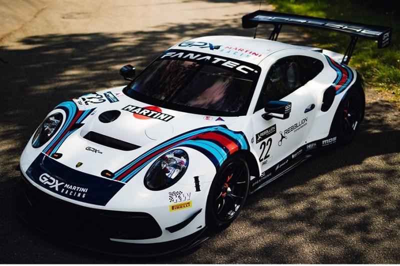 GPX Racing mit Martini-Retro-Design in der GTWC Europe