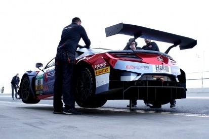 Kupplung durch! Honda NSX GT3 von Fugel verliert kompletten Testtag