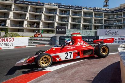 Unfall im Lauda-Ferrari: Alesi verpasst Sieg beim Historischen Monaco-GP