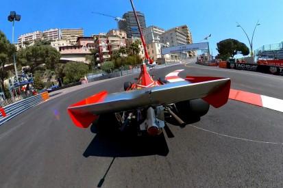 Alesi von oben: Die Hintergründe zur besonderen Perspektive in Monaco