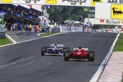 Estoril 1996: Schumacher war nach Villeneuves Geniestreich stinksauer