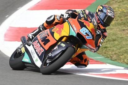 Moto2 in Jerez FT1: Gardner fährt Bestzeit, Lowes fliegt ins Kiesbett