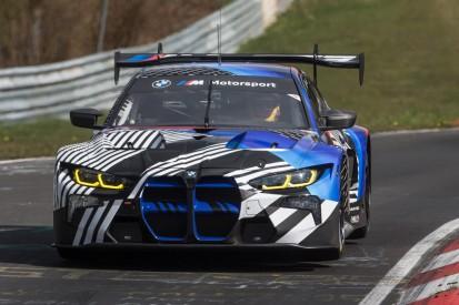 BMW M4 GT3 absolviert Test auf der Nürburgring-Nordschleife