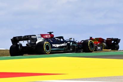 """Mercedes hadert: """"War schwierig, das Auto auf der Strecke zu halten"""""""