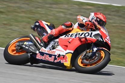 MotoGP in Jerez FT3: Bestzeit für Nakagami, Sturz von Marc Marquez