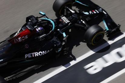"""Hamilton verpasst 100. Pole um 0,007 Sekunden: """"Ziemlich chaotische Session"""""""
