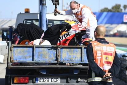 MotoGP Warm-up in Jerez: Bestzeit Zarco, nächster Sturz von Marquez