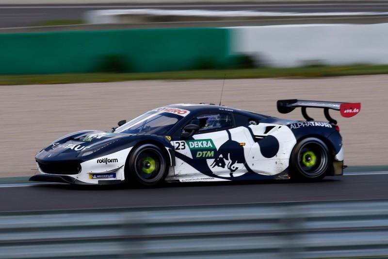 DTM-Test Lausitzring 2: Red-Bull-Ferrari jagt Mercedes, BoP-Poker voll im Gange