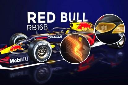 Formel-1-Technik: Das große Update am Red Bull RB16B im Video