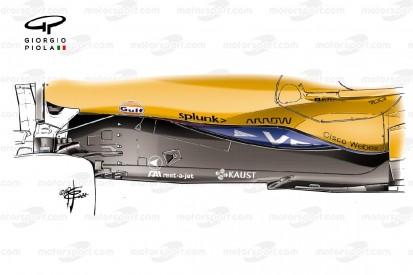 Formel-1-Technik: Warum sich McLaren dem Z-Unterboden angeschlossen hat