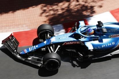 Alpine: In Monaco so weit hinten wie seit Imola nicht mehr