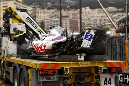 Mick Schumacher: Monaco-Crash kostet Haas eine halbe Million