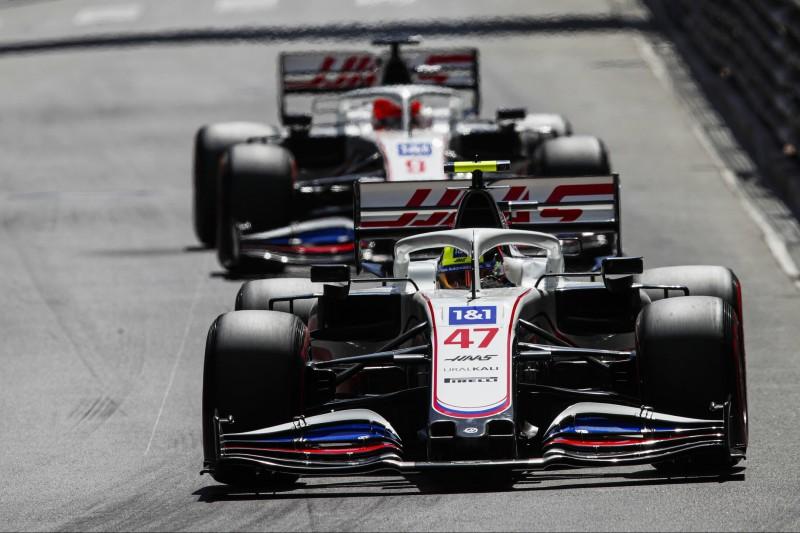 Benzindruck schuld: Erste Haas-Niederlage für Mick Schumacher