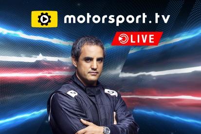 Juan Pablo Montoya wird neuer Motorsportexperte für Motorsport.tv