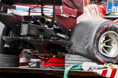 Nabe der Antriebswelle: Was bei Leclerc genau kaputtging und wieso