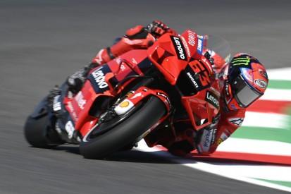 MotoGP in Mugello FT2: Bagnaia fährt Bestzeit, KTM zurück im Spitzenfeld