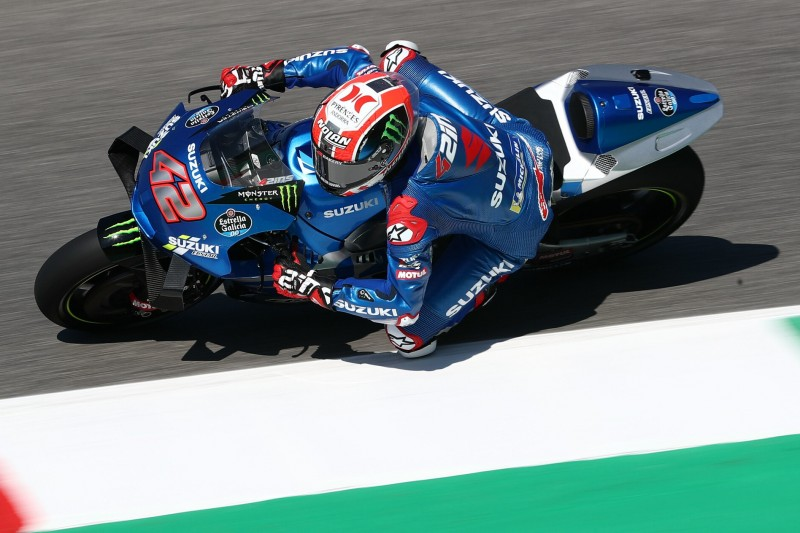 Update macht Suzuki schneller: Alex Rins fährt in Mugello Topzeiten