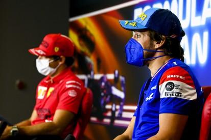 Alonso nach Sainz-Podium: Bei mir hätte keiner über Platz zwei gejubelt ...
