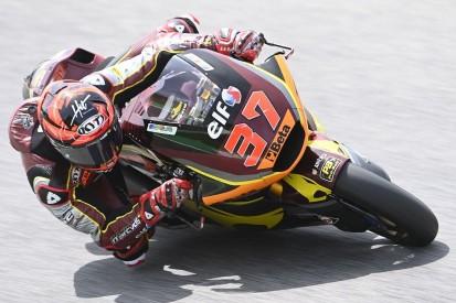 Moto2 in Barcelona FT1: Marc-VDS-Duo vorn - Schrötter auf Platz zwölf