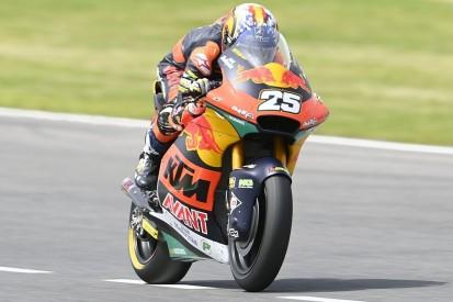 Moto2 in Barcelona FT2: Raul Fernandez setzt sich an die Spitze