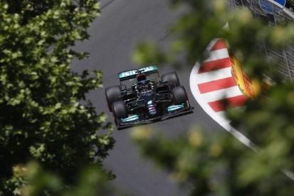 """Mercedes in Baku im Krisenmodus: """"Das wird ein langer Abend"""""""