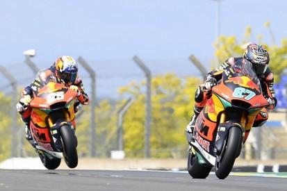 Moto2 in Barcelona 2021: Remy Gardner gewinnt Duell gegen Raul Fernandez