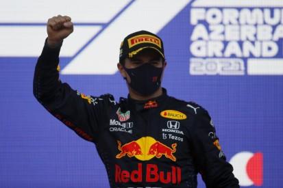 """Sergio Perez feiert """"besonders süßen"""" Sieg: """"Genieße den Moment"""""""