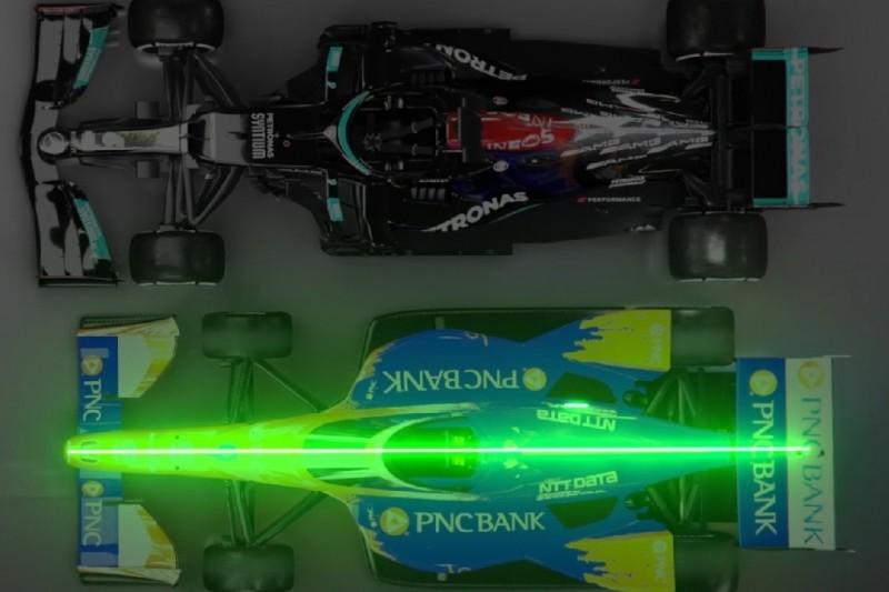 Video: Formel 1 und IndyCar im Direktvergleich
