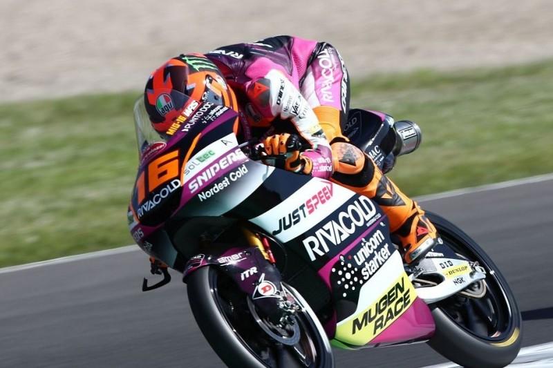 Moto3 Sachsenring FT3: Migno mit neuer Bestzeit - Highsider bei Rodrigo