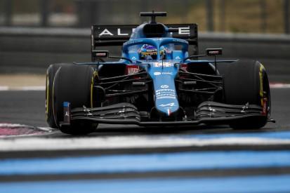 Alonso gibt zu: Alpine im Freien Training meistens mit weniger Benzin