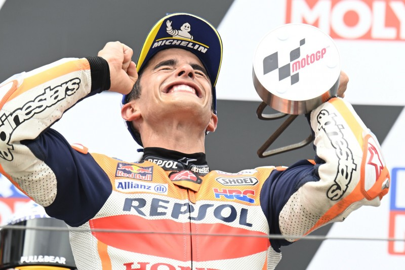 """""""Kein Sieg war so emotional wie dieser"""" - Marc Marquez jubelt am Sachsenring"""