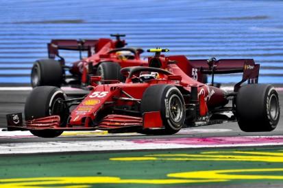 Ferrari gewinnt erste Erkenntnisse nach Frankreich-Desaster