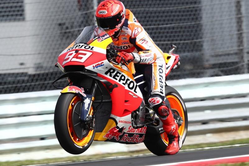 Marc Marquez mit Schmerzen im Fuß: Highsider beeinträchtigt auch Qualifying