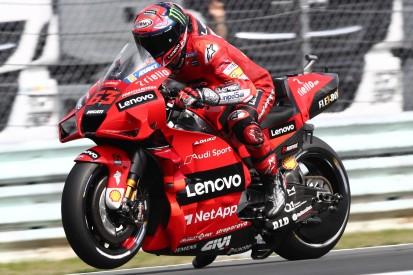 Ducati-Trio will beim MotoGP-Rennen in Assen den Rhythmus der Yamahas stören