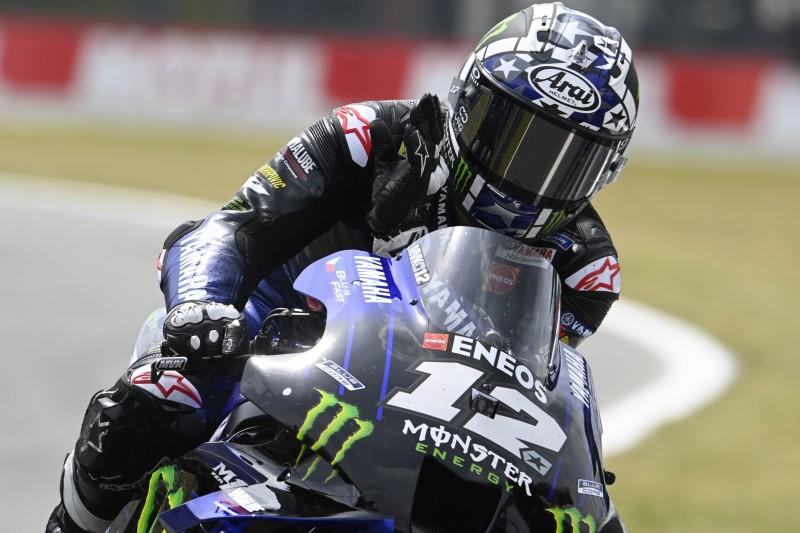 MotoGP in Assen: Yamaha-Doppelspitze auch im Warm-up, Rossi Zehnter