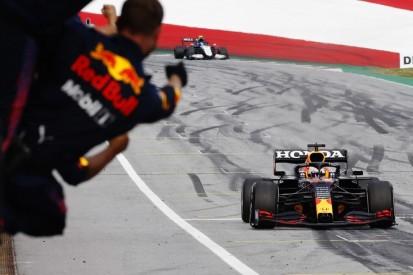 """Verstappen über FIA-Verwarnung: """"Ich hatte ja in den Rückspiegel geschaut ..."""""""