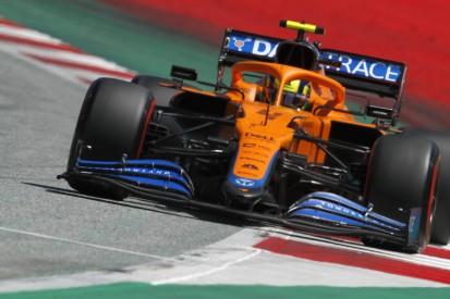 """Lando Norris auf P2 für McLaren: """"Die Poleposition wäre zu viel verlangt"""""""