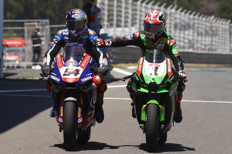 WSBK-Titelkampf zwischen Kawasaki und Yamaha, Ducati verliert den Anschluss