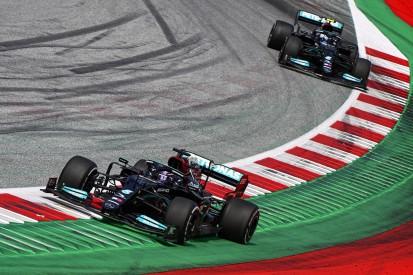"""Mercedes: Schaden kostete Lewis Hamilton """"sechs bis sieben Zehntel"""""""