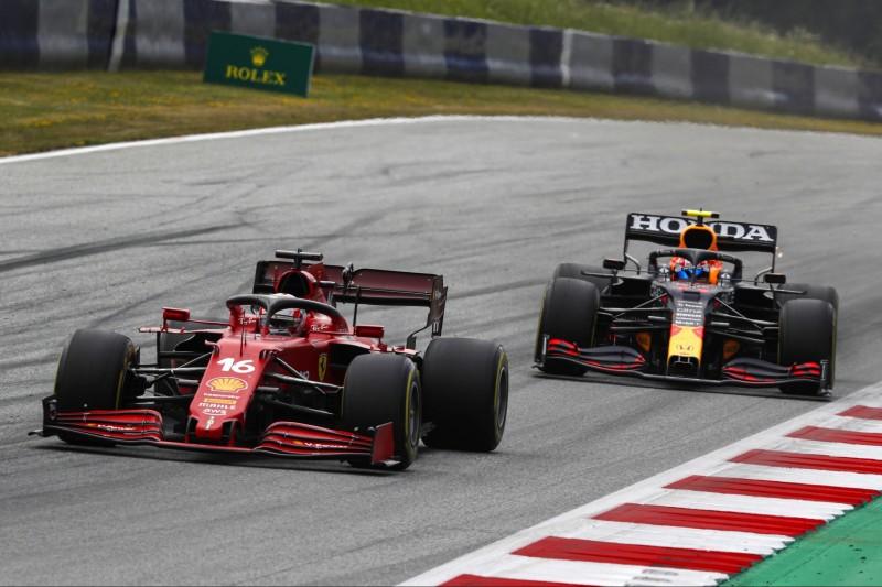Leclerc nicht sauer auf Perez, aber Strafe war gerechtfertigt