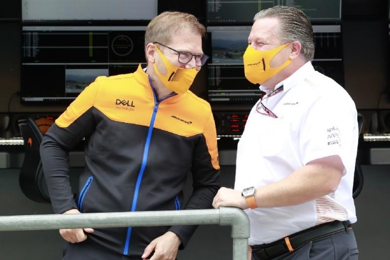 """McLaren bleibt trotz P3 bescheiden: """"Wissen, was der Rückstand ist"""""""