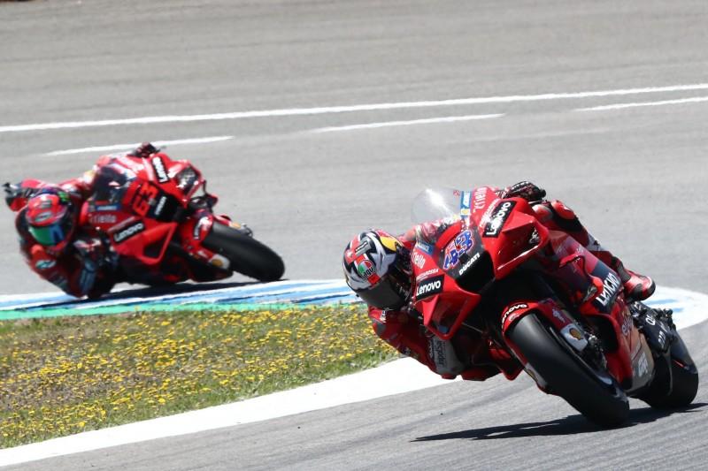 "Ducati-Halbzeitfazit: ""Glas halbvoll"", ""müssen Schritt machen"""