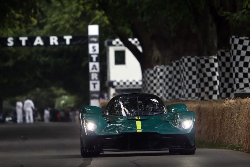 Blamage für Aston Martin: Valkyrie geht beim Goodwood Festival of Speed kaputt