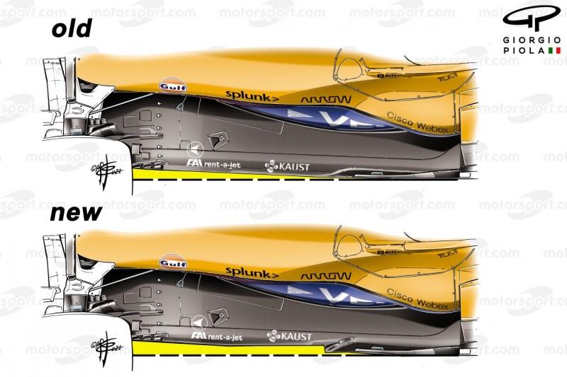 Formel-1-Technik: McLaren mit Updates als Mercedes-Herausforderer