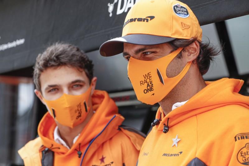 Lando Norris: Darum hatte er mehr Spaß mit Sainz als mit Ricciardo