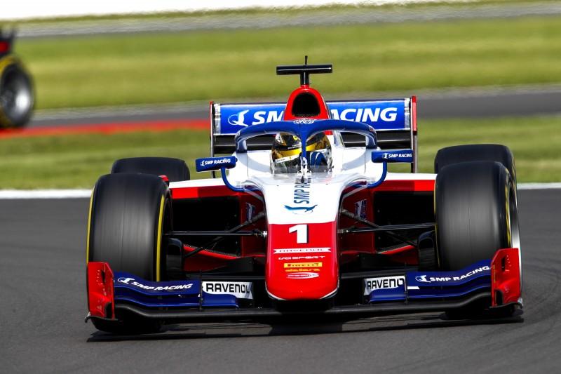 Formel 2 Silverstone 2021: Robert Schwarzman gewinnt nach Blitzstart