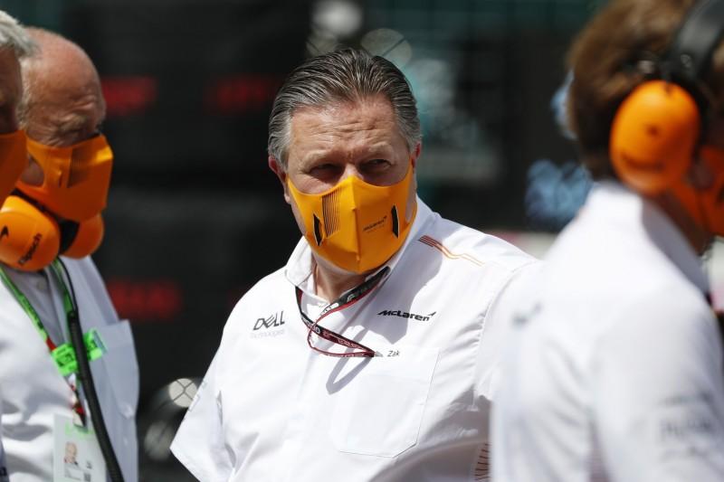 Zak Brown: Teams und F1 dürfen bei Corona nicht unachtsam werden