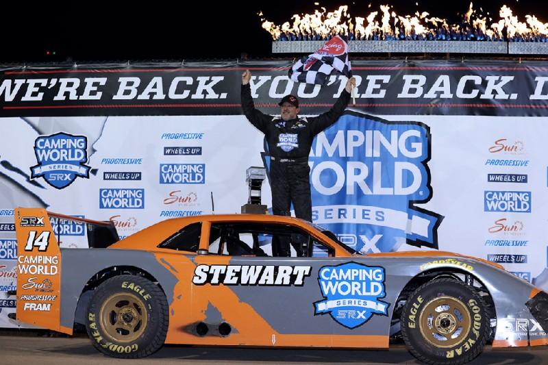 SRX-Finale in Nashville: Titel für Tony Stewart bei Sieg für Chase Elliott